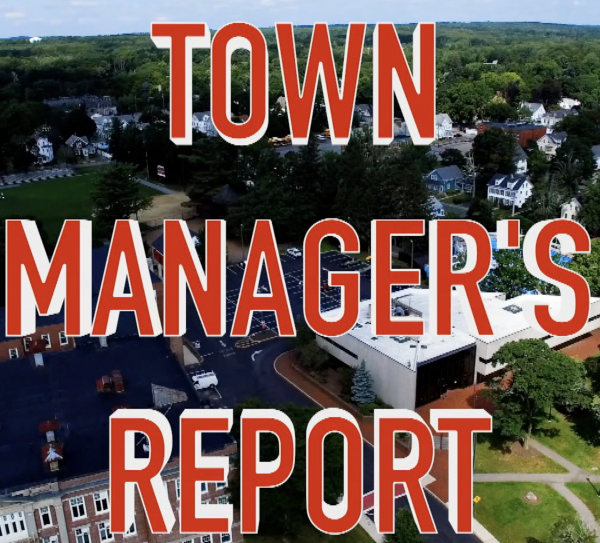 Town Manager Report