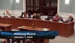 Plainville Planning Board 1-7-20