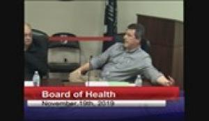 Board of Health and Department of Public Works Joint Meeting 11-19-119