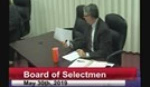 Board of Selectmen 5-30-19