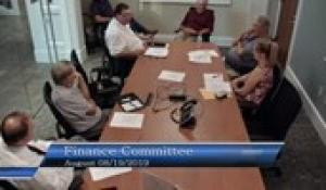 Plainville Finance Committee 8-19-19