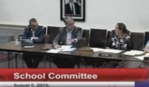 North Attleborough School Committee 8-5-19