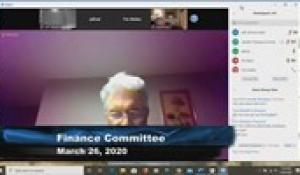 Plainville Finance Committee 3-26-20