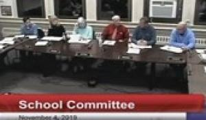 North Attleborough School Committee November 4, 2019