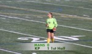 2019 Girls' Soccer: Mansfield at King Philip