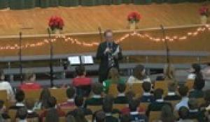 Bishop Feehan: Christmas Assembly 2019