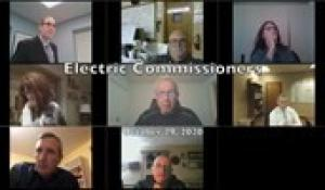 Electric Commissioners 10-29-20