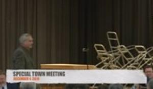 Special Town Meeting 12-4-19