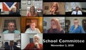 North Attleborough School Committee Meeting (11/2/20)