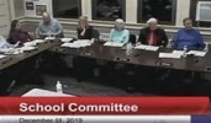 North Attleborough School Committee December 11, 2019