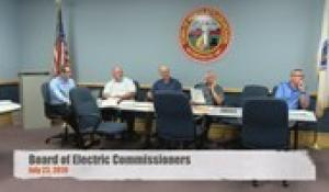 Electric Commission 7-23-19