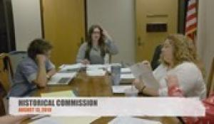 Historical Commission 8-13-19
