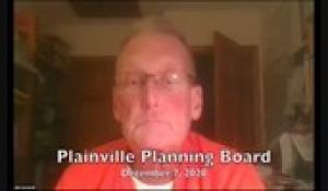 Plainville Planning Board 12-7-20