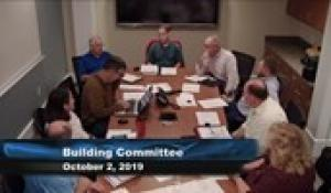 Plainville Building Committee 10-21-9