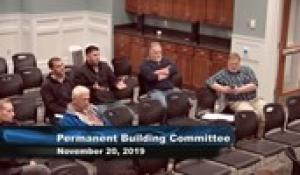 Plainville Building Committee 11-20-19