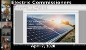Electric Commission 4-7-20