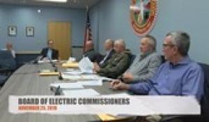 Electric Commissioners 11-25-19