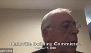 Plainville Building Committee 10-7-20
