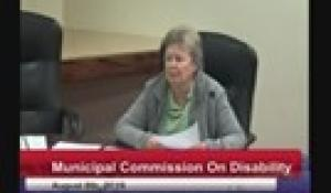 Disability Commission 8-8-19
