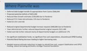 Plainville Finance Committee 11-18-20