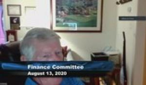 Plainville Finance Committee 8-13-20
