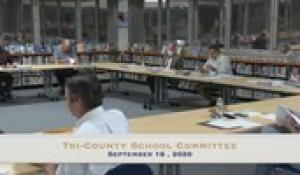 Tri-County School Committee (9/16/20)
