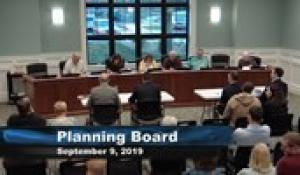 Plainville Planning Board 9-9-19