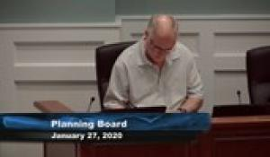Plainville Planning Board 1-27-20