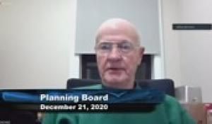 Plainville Planning Board 12-21-20