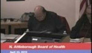 Board of Health Meeting 4-22-19