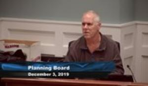 Plainville Planning Board 12-3-19