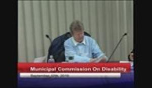 Disability Commission 9-12-19