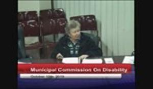 Disability Commission 10-10-19
