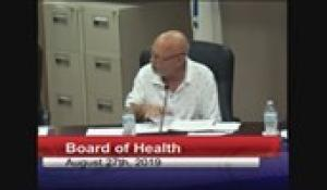 Board of Health 8-27-19