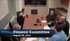 Plainville Finance Committee 8-28-19