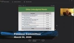 Plainville Finance Committee 3-30-20