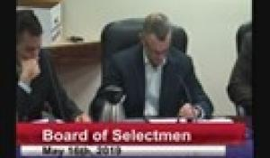 Board of Selectmen 5-16-19
