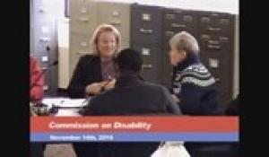Disability Commission 11-14-19