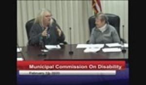 Disabilities Commission 2-13-20