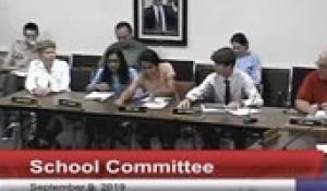 North Attleborough School Committee: September 9, 2019