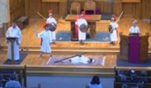 St. Mary's & Sacred Heart School's Fourth Grade: Stations of the Cross (4/11/2019)