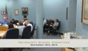 Tri-County School Committee: September 2019