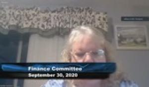 Plainville Finance Committee 9-30-20