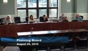 Plainville Planning Board 8-26-19
