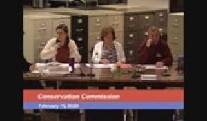 Conservation Commission 2-11-20