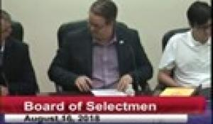 Board of Selectmen 8-16-18