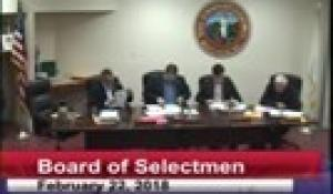Board of Selectmen 2-22-18