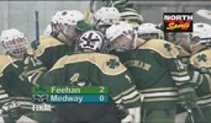 2018-19 Hockey: Bishop Feehan vs Medway