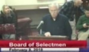 Board of Selectmen 2-8-18
