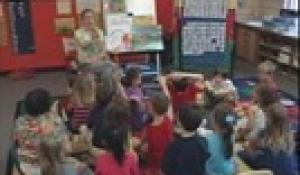 Allen Avenue School: Local Author Nicole DeRosa Cannella visits Allen Ave 2012